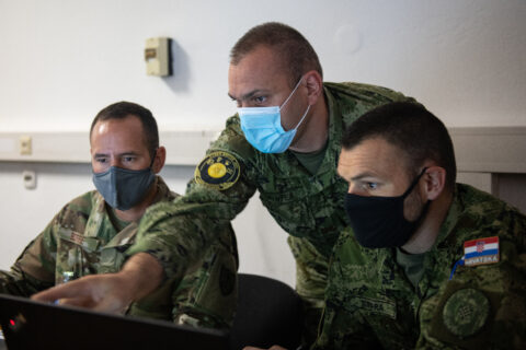 Midwest Croatia Kosovo Exercise Adriatic Thunder